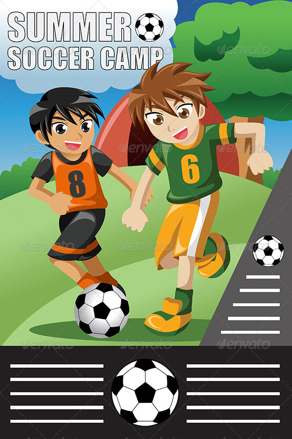 GraphicRiver Summer Soccer Camp 8152001