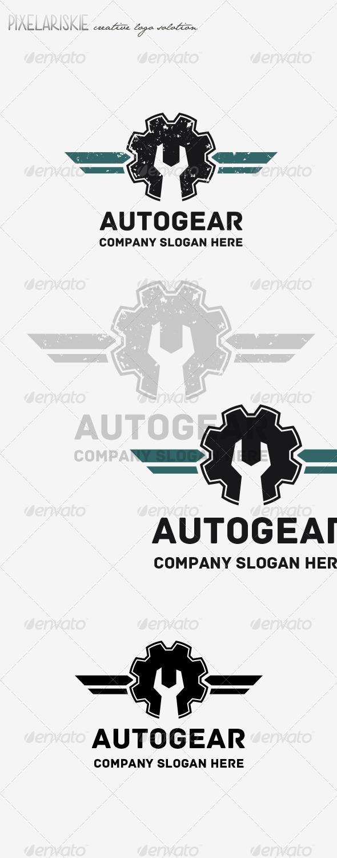 GraphicRiver Auto Gear Logo 8152270