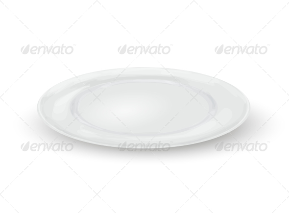 GraphicRiver Empty Dinner Plate 8152889