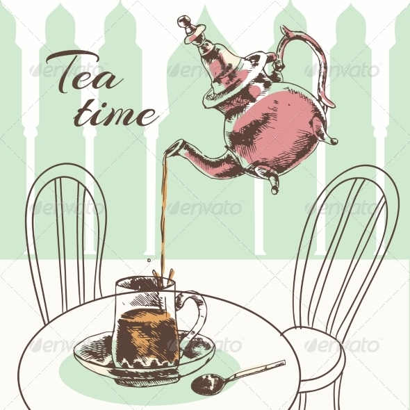 GraphicRiver Tea Time 8153237
