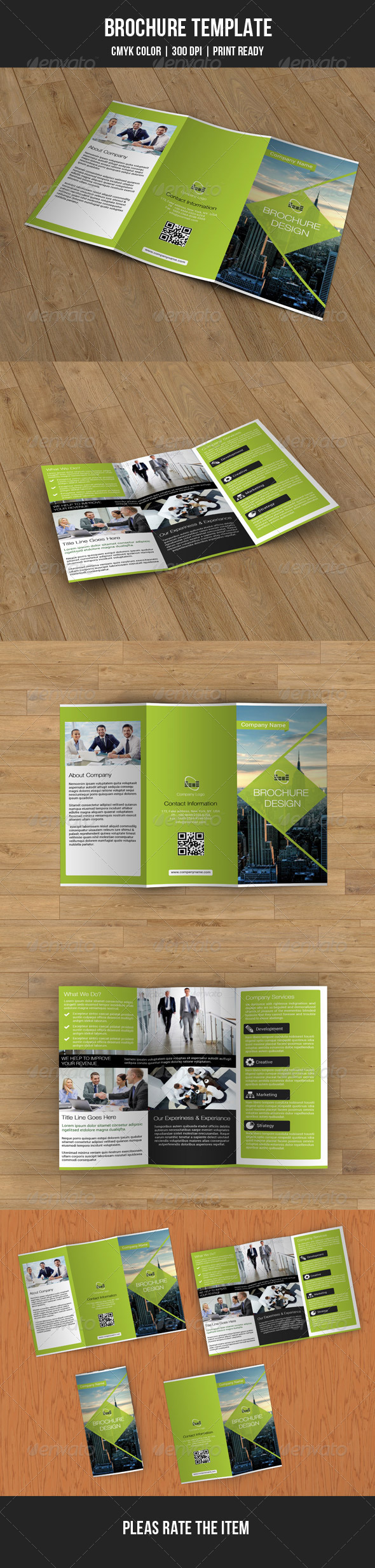 GraphicRiver Trifold Business Brochure-V27 8153693