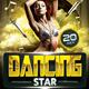 Dancing Star Flyer - GraphicRiver Item for Sale