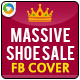 Shoe Sale Facebook Cover Page - GraphicRiver Item for Sale