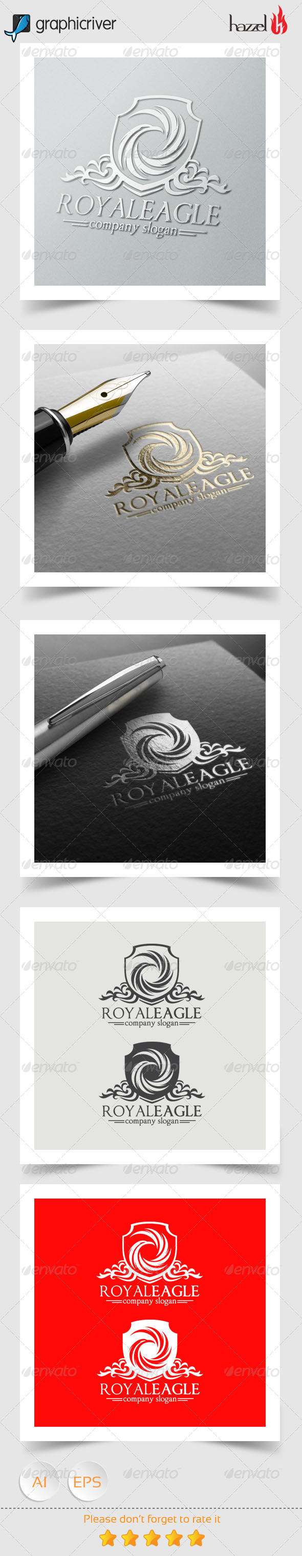GraphicRiver Royal Eagle Logo 8154248