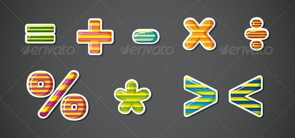 GraphicRiver Math Signs 8154427