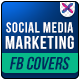 Social Media Marketing Facebook Covers - GraphicRiver Item for Sale