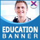 Education Institute Banners - GraphicRiver Item for Sale