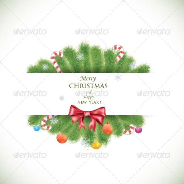 GraphicRiver Merry Christmas and Happy New Year Banner 8154649