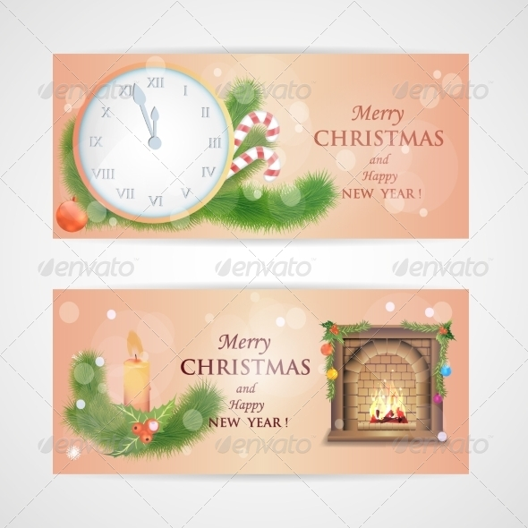 GraphicRiver New Year and Christmas Card 8154667