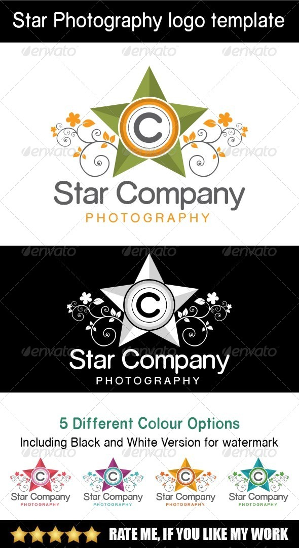 GraphicRiver Star Company Logo Template 8154821