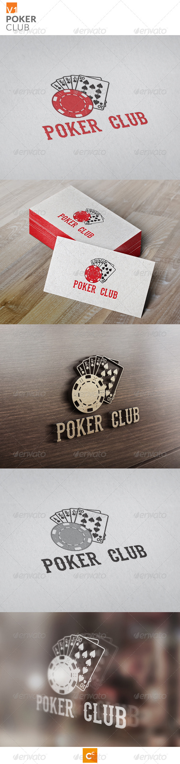 GraphicRiver Poker Club 8154858