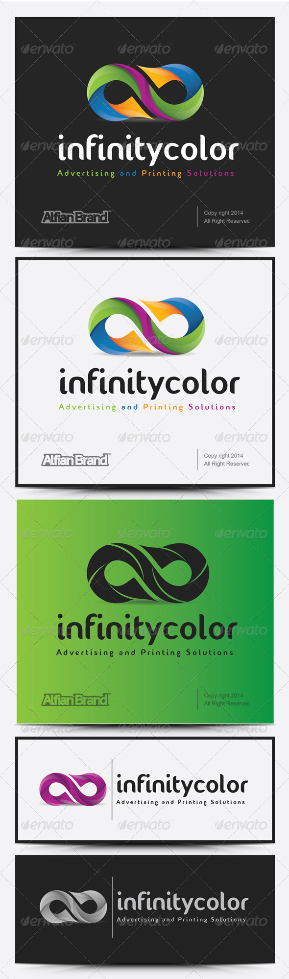GraphicRiver Infinity Color Logo 8155101