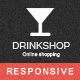 Drink Shop Responsive Prestashop Theme - ThemeForest Item for Sale
