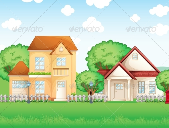 GraphicRiver Two Big Houses 8155259
