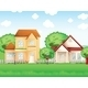Two Big Houses - GraphicRiver Item for Sale