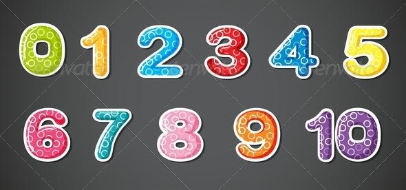 GraphicRiver Eleven Numerical Figures 8155434