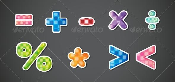 GraphicRiver Mathematical Symbols 8155504