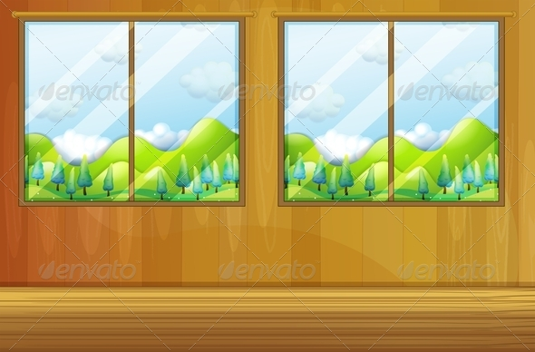 GraphicRiver Windows made of Glass 8155591