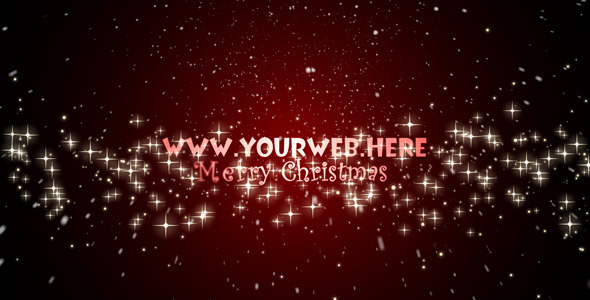 VideoHive Merry Christmas Intro 73752