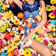 fashion model posing with flowers - PhotoDune Item for Sale