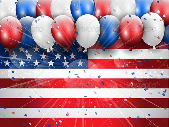 GraphicRiver Independence Day Celebration Background 8156011