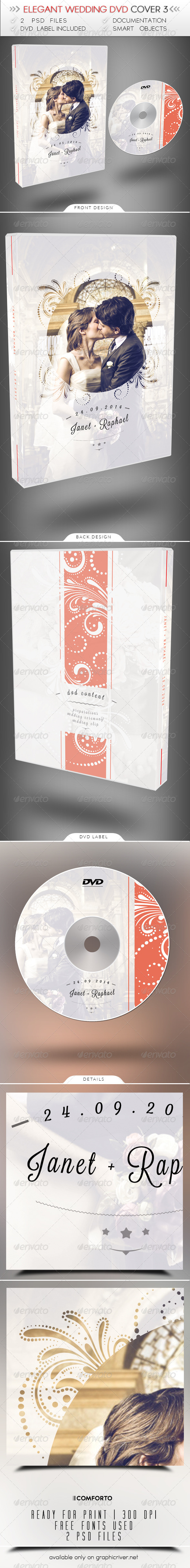 GraphicRiver Elegant Wedding DVD Cover 3 8156026