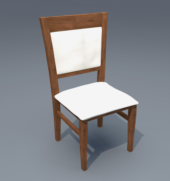3DOcean Chair model Ch 2 8156078