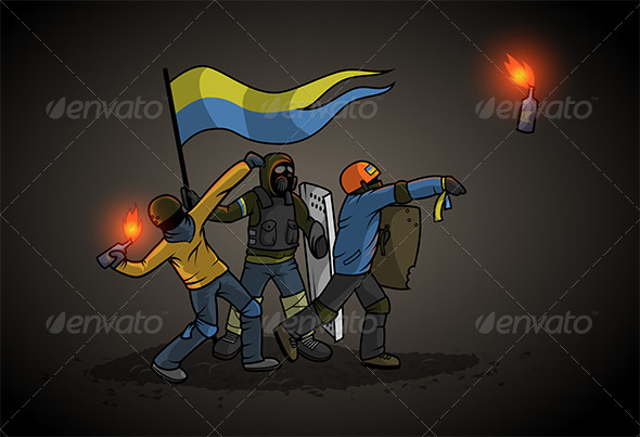 GraphicRiver Ukrainian Revolution 8156323