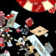 Casino Elements Fly and Blowing up. - VideoHive Item for Sale