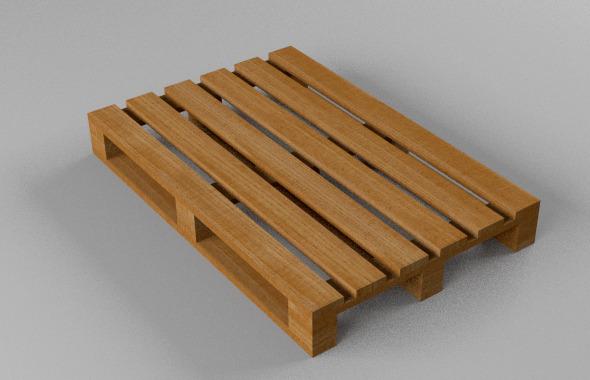 3DOcean wooden pallet 8156378