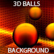 3D Metal Spheres Background - GraphicRiver Item for Sale