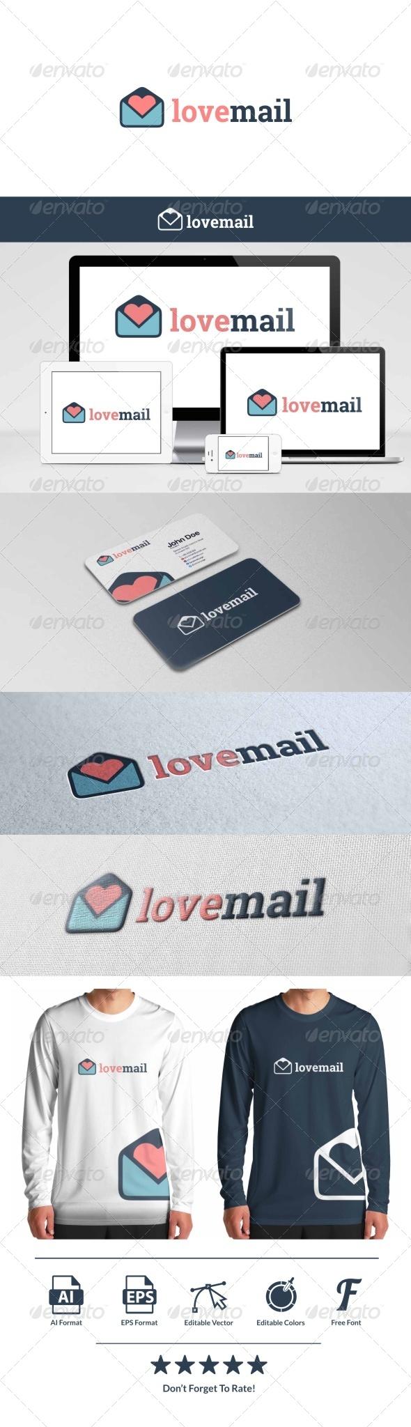 GraphicRiver Love Mail Logo 8156489
