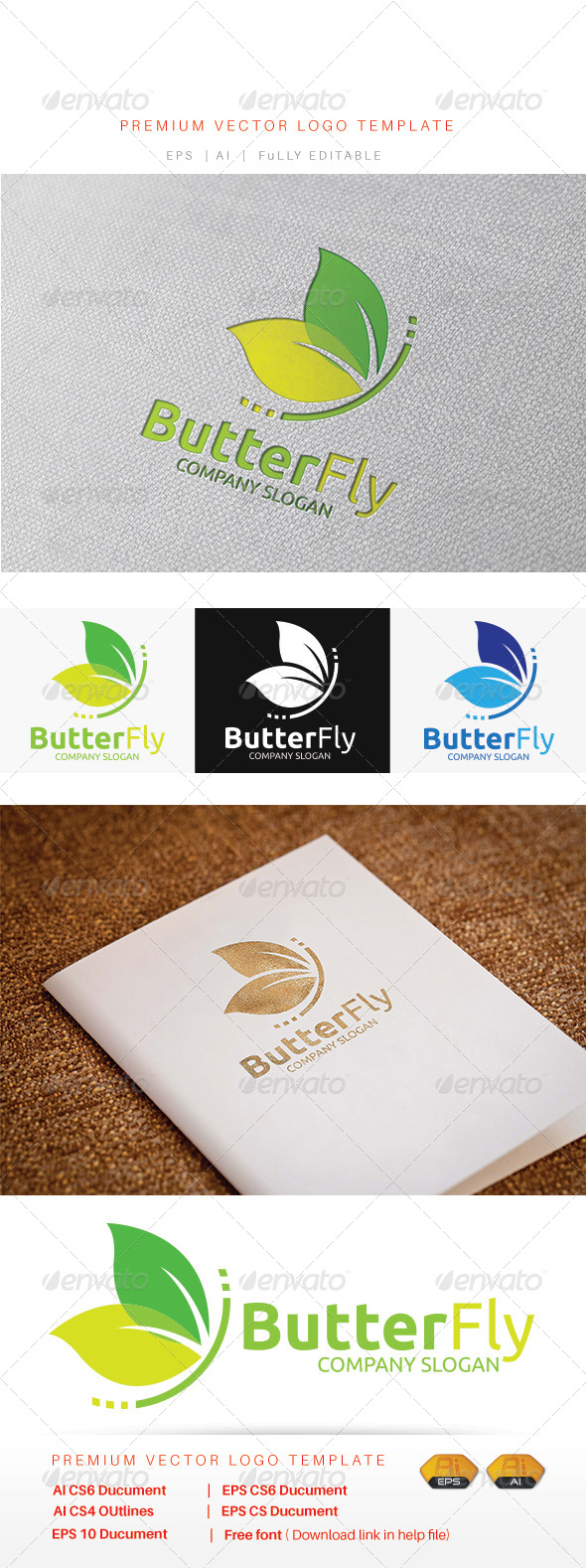GraphicRiver ButterFly 8146135