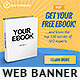 Ebook Web Banner Template 2 - GraphicRiver Item for Sale