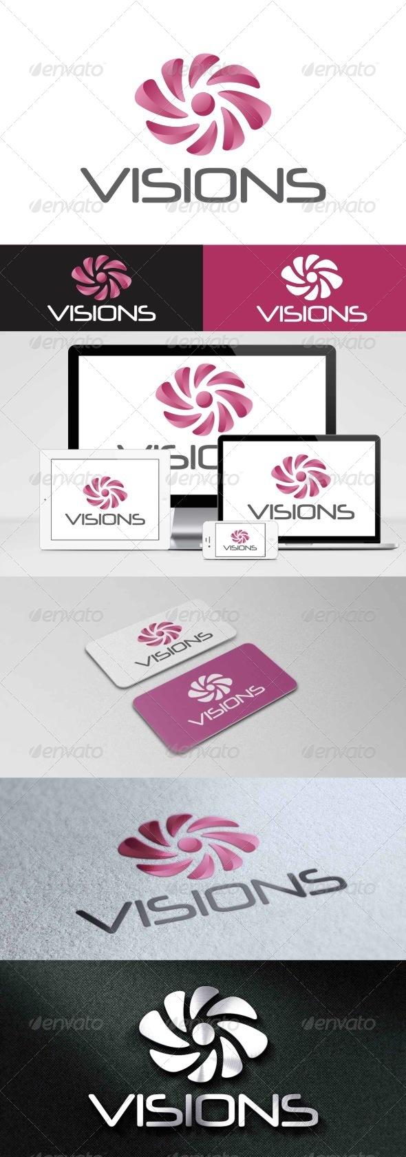 GraphicRiver Visions Logo 8156519