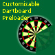 Customisable Dartboard Preloader - ActiveDen Item for Sale