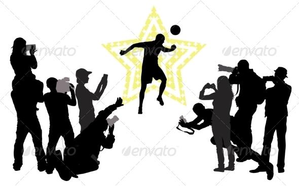 GraphicRiver Soccer Star Concept 8156680