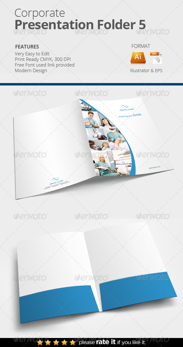 GraphicRiver Presentation Folder 5 8156805