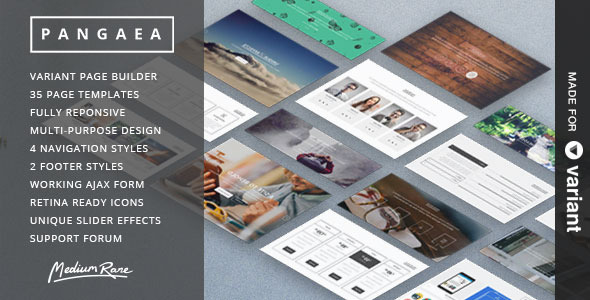 ThemeForest Pangaea Multi-Purpose Template with Page Builder 8081993