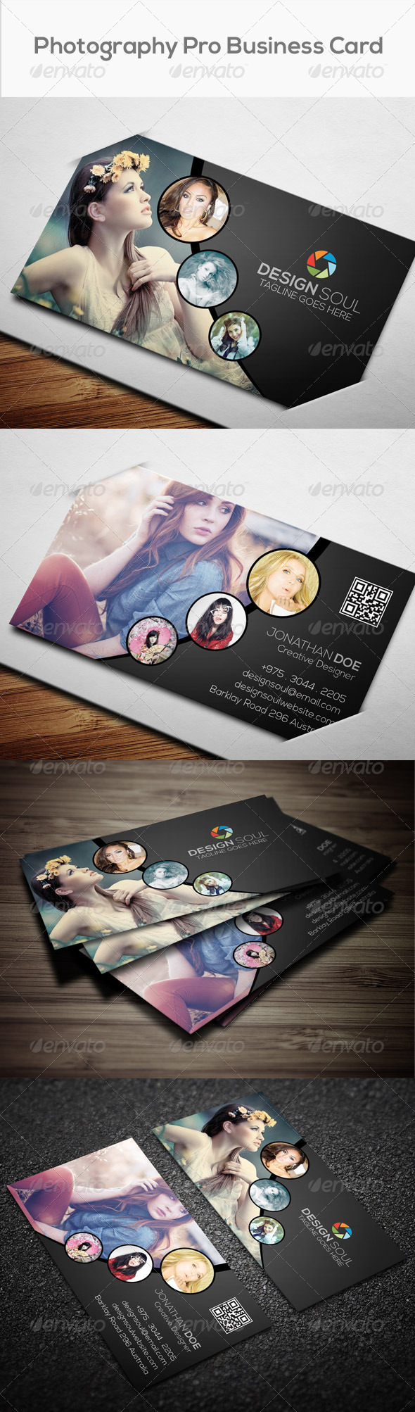 GraphicRiver Photography Pro Business Card 8157204