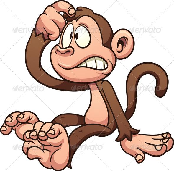 GraphicRiver Cartoon Monkey 8157280