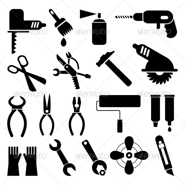 GraphicRiver Tool Icons 8157389