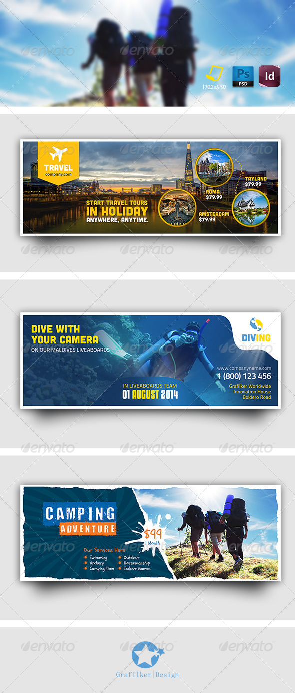 GraphicRiver Multipurpose Timeline Templates 8141022
