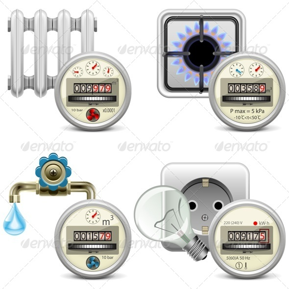 GraphicRiver Meter Icons 8157468