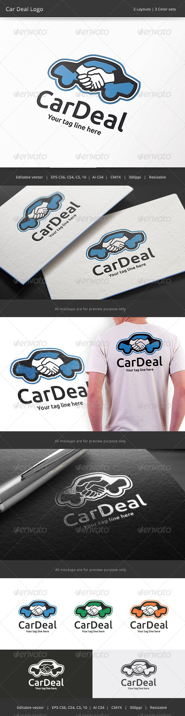 GraphicRiver Car Deal Logo 8158167