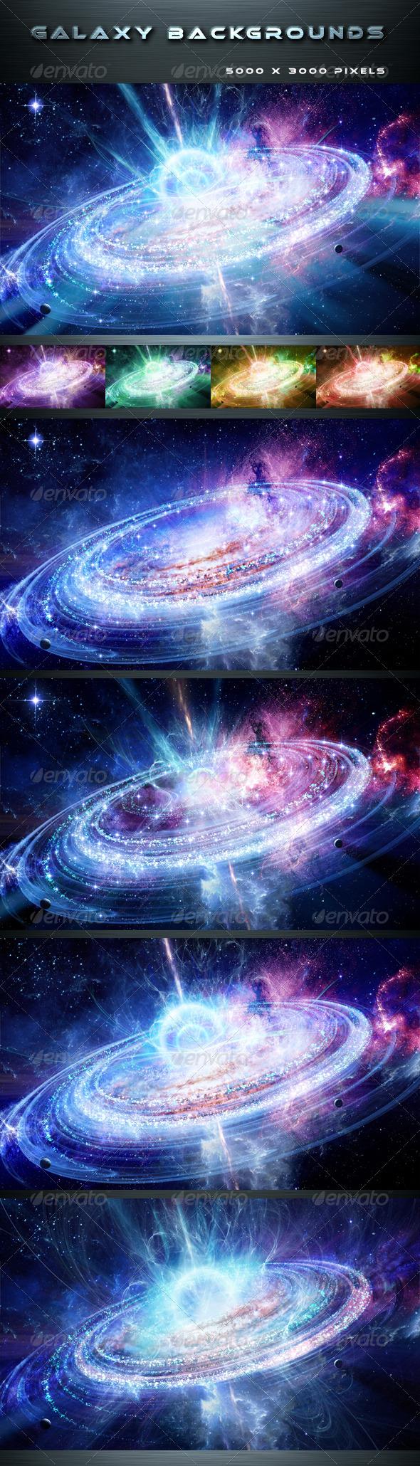 GraphicRiver Galaxy 8158169