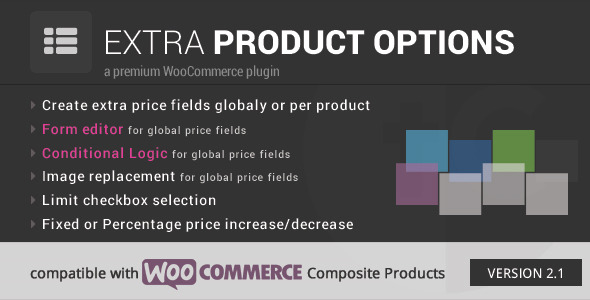 CodeCanyon WooCommerce Extra Product Options 7908619