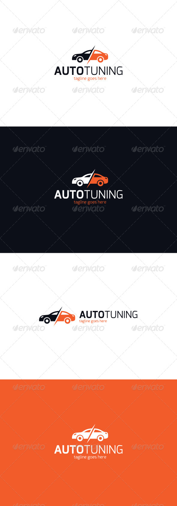 GraphicRiver Auto Tuning Logo 8158202