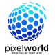 Pixel World Logo - GraphicRiver Item for Sale