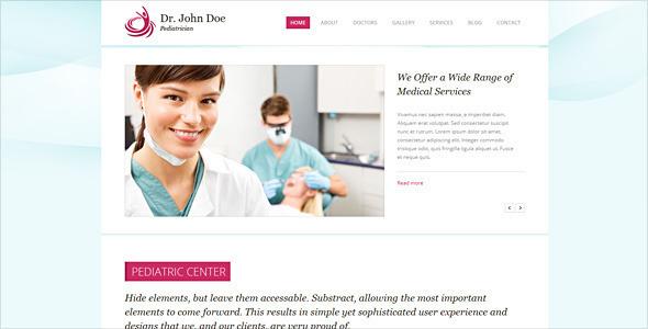Dr. John Doe – Responsive Drupal One-page